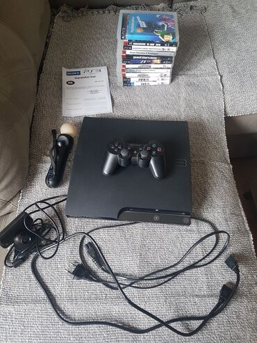 PS3 (Sony PlayStation 3) | Srbija: Na prodaju Sony Playstation 3 320gb slim. U odlučnom je
