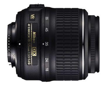 Фото и видеокамеры - Кыргызстан: Продаю объектив на Nikon: Nikkor 18-55mm f/3.5-5.6G AF-S VR DX. Состоя