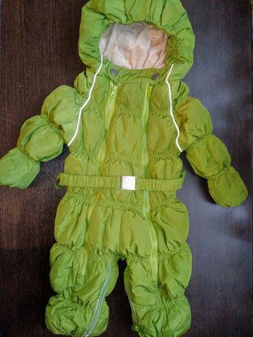 Зимний пуховик Chicco, очень теплый и удобный,с рождения до года, в