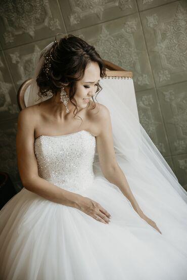 Свадебное платье. Состояние идеальное. Покупала новым, надевала 1 раз