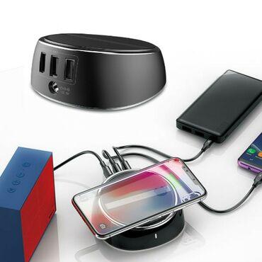 Enerjiyükləyicilər - Azərbaycan: Original Baseus wireless charger adaptersimsiz enerji yukleyici