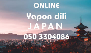Onlayn Yaponca dil kursları Karantin günlərində evdə boş-boş internet