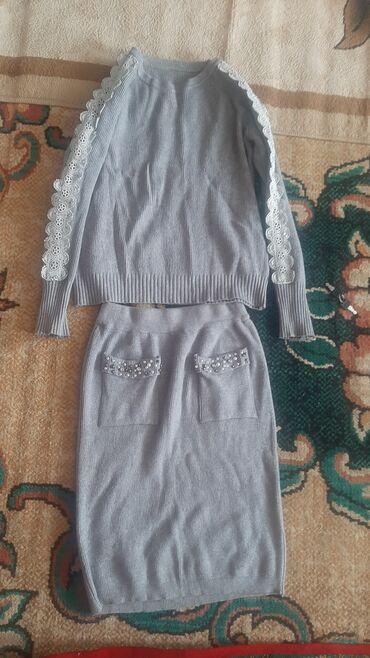 Личные вещи - Кара-куль: Кофта юбка  Состояние хорошое Размер 46 500с