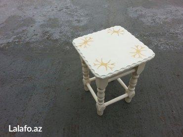 Bakı şəhərində Taburetka krem qizili