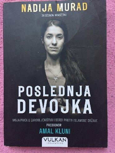 Knjige, časopisi, CD i DVD | Zrenjanin: Knjiga Poslednja devojka. Odlicno delo. Samo procitana