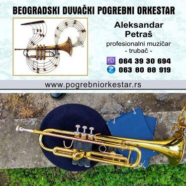 Ujedno dosta - Srbija: Solo truba ili violina za sahrane pogrebe BeogradSolo trubač ili