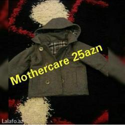 Bakı şəhərində Mothercare palto 2yasa qeder yeni kimidir