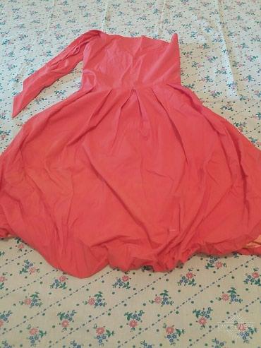 Бальное красное платье на 10 лет в Бишкек