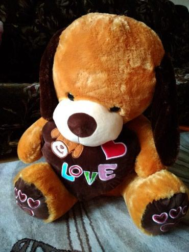 Мягкая игрушка, собака. подарили на в Бишкек