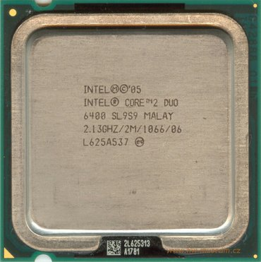 Intel core2 duo 6400:  2. 13 ghz/2mb/1060 malay в Джалал-Абад