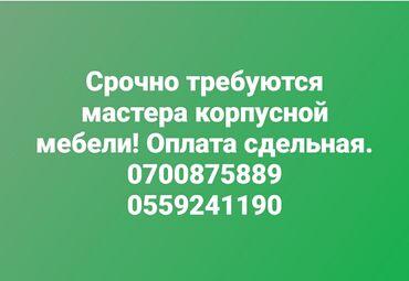 schetchik gorjachej vody 15 в Кыргызстан: Плотник, мебельщик. С опытом. 6/1