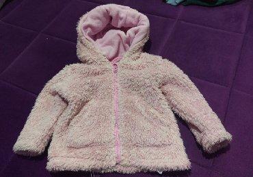 Dečije jakne i kaputi | Cuprija: Bundica za bebe, velicina 80.  Malo nosena placena 3700