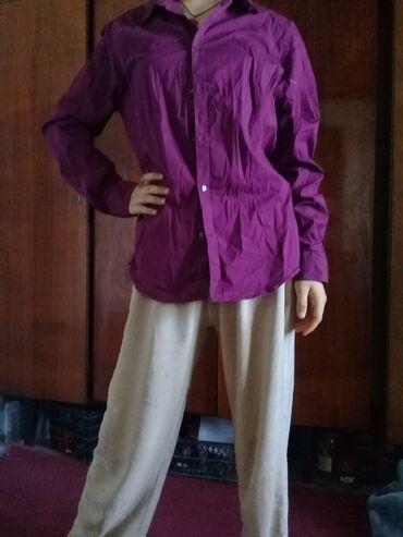 Находки, отдам даром - Тынчтык: Меняю рубашки женские 48 размера на 2 кг бананов. Состояние хорошее