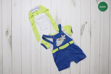 Дитячий набір (комбінезон, футболка, шапочка) Ляля   Довжина: футболка