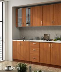 Kuhinja Eva 2m sa ugrađenom sudoperom - limom. - Valjevo