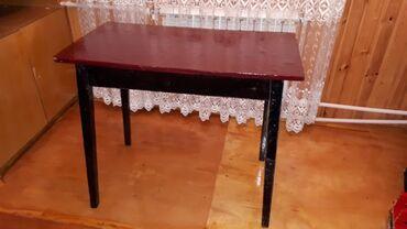 çarpayıya bitişik stol - Azərbaycan: Stol uzunu 90sm eni 48sm Ayaglari sokulur
