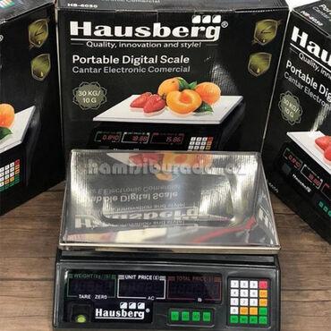 215 - Azərbaycan: Market Tərəzisi Hausberg HB 6050Brend:HausbergMəhsul ölçüsü: 180 * 140
