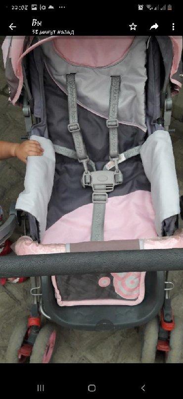Бу коляска в хорошем состоянии Baby bus, плавающие колеса, 5ти