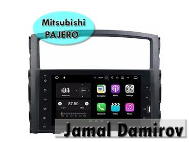 Bakı şəhərində Mitsubishi Pajero üçün Android DVD- monitor.