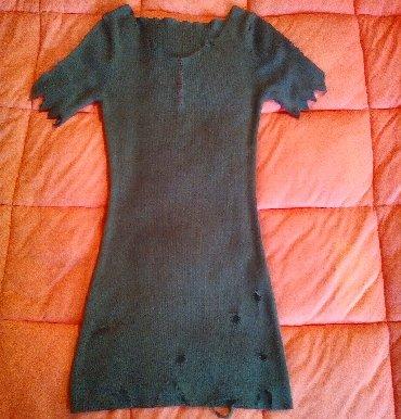 Haljine | Svilajnac: Maslinasta haljinica. M velicina, ali odgovara i drugim velicinama jer