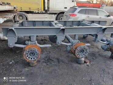 Продается рама и мосты саф полуприцепа schmitz skо 24 2010 года