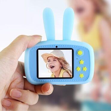 Описание Детский цифровой фотоаппарат KIDS Fun Camera Зайчик /