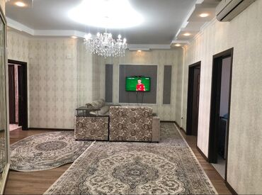 уй ремонт фото в Кыргызстан: Сдается квартира: 3 комнаты, 130 кв. м, Бишкек