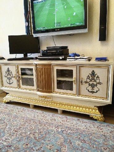 шкаф в гостинную в Азербайджан: Гостиная мебель в отличном состоянии Цена 1600ман