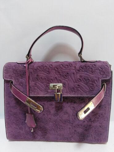 Mona torba - Srbija: VIA BORGOSPESSO Italy Milano vrhunska original kožna torba,prirodna