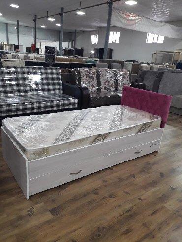 Гладильные доски - Кыргызстан: Кровать одно спальный наличии размер 190×80с матрасами доставка по