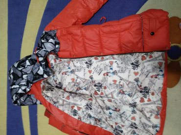 Зимняя женская куртка, пуховик. Размер в Бишкек