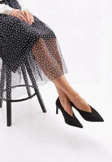 черные-женские-туфли в Кыргызстан: Новые женские туфли MANGO размер 36.5 /37