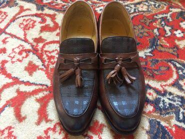 don vigaron в Кыргызстан: Туфли Don Marinozi из натуральной кожи  Обувь одевал только один раз н