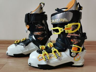 """оформить виза в италию в Кыргызстан: Ботинки для фрирайда ( ski touring)""""Scarpa Vibram"""" ИталияРазмер: 42"""