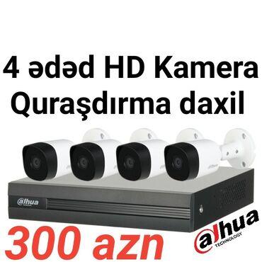 Kameraların quraşdırılması - Azərbaycan: Təhlükəsizlik kameraları, təhlükəsizlik kameraların quraşdırılması2 il