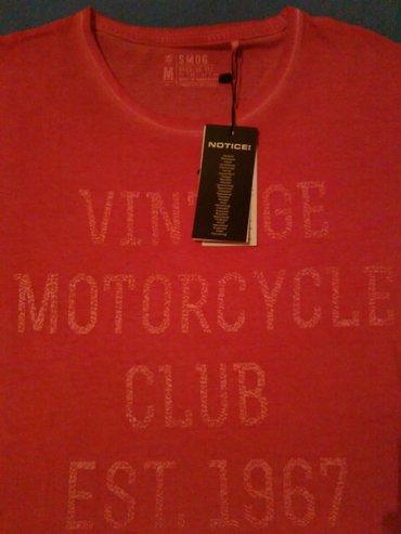 Muska majica,pink sa natpisom,regular fit,marka SMOG New - Nis - slika 3