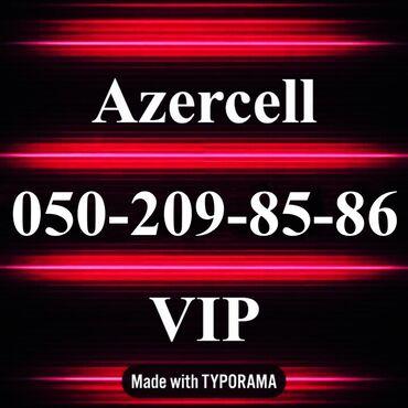 nomre - Azərbaycan: 050-209-85-86 Yeni VIP Azercell nomre