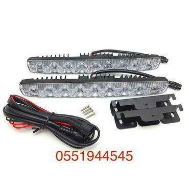 Дневные ходовые огни автомобиля drl led 9 напряжение: 12 вольт светоди