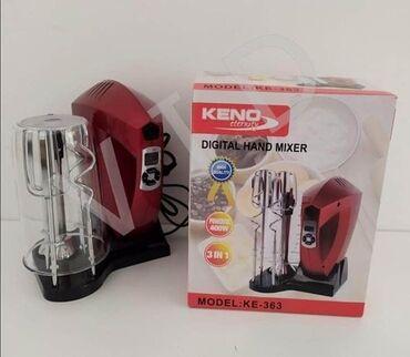 Elektronika | Srbobran: Digitalni kuhinjski mikserModel: KE-363Snaga: 400WNapon: 220V6 brzina