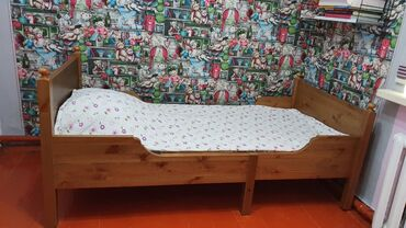 produkcii ikea в Кыргызстан: Кровать которая растёт вместе с ребёнком! IKEA. Матрас LinaKoмплeкт:-