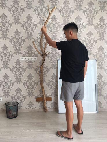 stol i taburetki na kuhnju в Кыргызстан: Крафтовая вешалка настенная Как устанавливать?Нужно прикрутить шуруп в