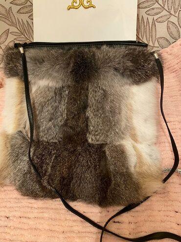 Продаю сумку из натурального меха ( кролик) новая цена 3500 сом