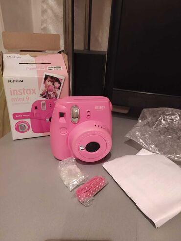fujifilm finepix s2950 в Азербайджан: Təptəzə karobkasında ani çap fotoaparatı Fujifilm instax mini 9