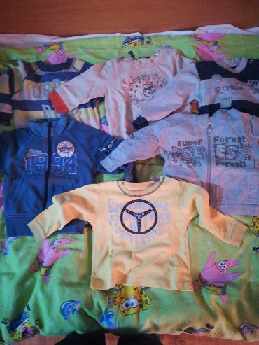 Dečija odeća i obuća - Rumenka: 6 očuvani duksića za dete od 12do 18 meseci