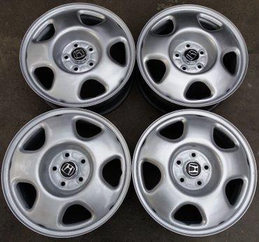 Штампованные (железные) R17 диски Honda CR-V 3 поколение. Подойдут в Бишкек