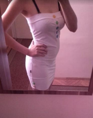 NOVO! Bela top tunika,mršavije dame je mogu nositi kao haljinu. UNI - Belgrade