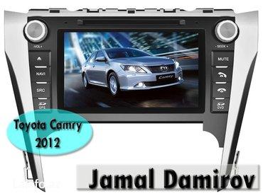 Bakı şəhərində Toyota camry 2012 üçün dvd-monitor. Dvd-монитор для