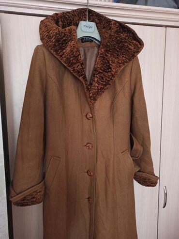 Продаю пальто из драпа 46-48 размера длина в пол, в хорошем состоянии