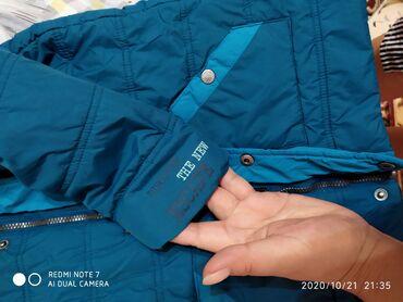 Очень тёплая и лёгкая куртка на мальчика 3х лет рост 98 см