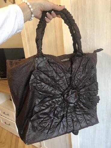 Torba pre meseca - Srbija: SNIZENA, PS FASHION, KAO NOVA, zenska predivna torba, braon boje